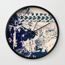 Cartographer Wall Clock