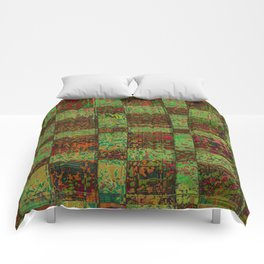Checkoff Abstract Pattern Comforters
