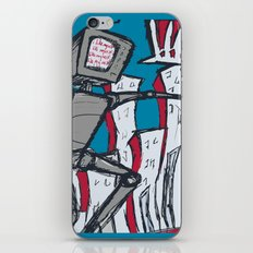 Manhattan vs. Depressed Giant Robot iPhone & iPod Skin