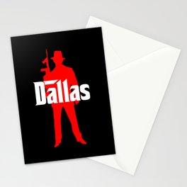 Dallas mafia Stationery Cards