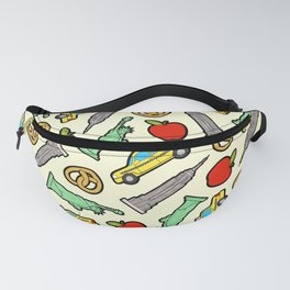 New York, New York Pattern Fanny Pack