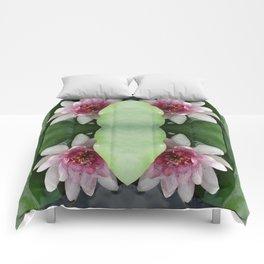 Beautiful Lotus Flower Comforters