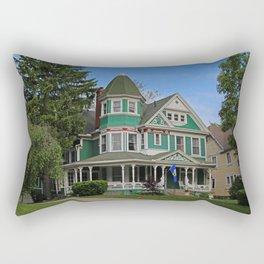 Old West End Green 3- II Rectangular Pillow