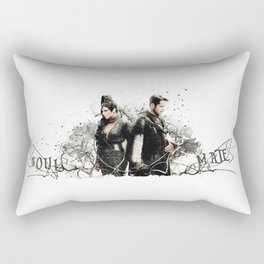 Outlaw Queen - Soul Mates Rectangular Pillow