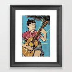 Happy Songs Framed Art Print
