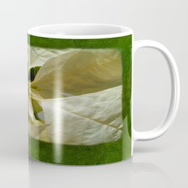 Pale Yellow Poinsettia 1 Blank P1F0 Coffee Mug