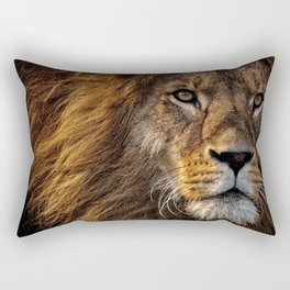 Majestic Lion Rectangular Pillow