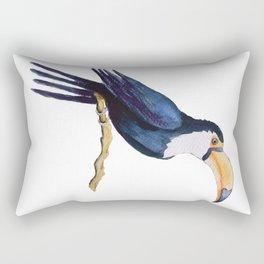 Toucan on the branch Rectangular Pillow