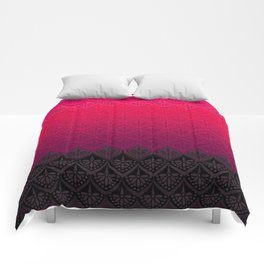 ELENA PATTERN - FLAMENCO VERSION Comforters