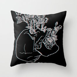 Humanity Is A Work In Progress Throw Pillow