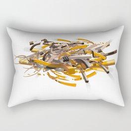 Testing 123 Rectangular Pillow