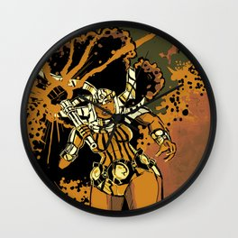 BIG SISTA BROWN Wall Clock