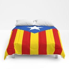 Estelada Blava - Senyeraestelada, HQ Banner version Comforters