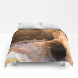 Ancient Pueblo - Gila Cliff Dwellings Comforters
