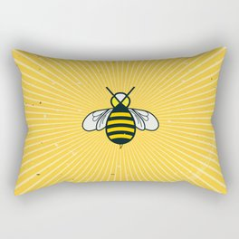 Don t worry – Bee happy – A Hell Songbook Edition Rectangular Pillow