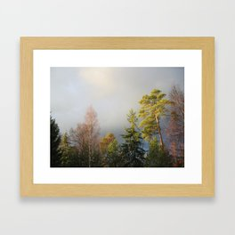Storm Warning Framed Art Print