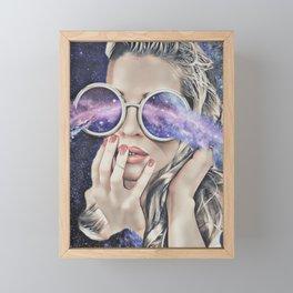 Miss Universe Framed Mini Art Print