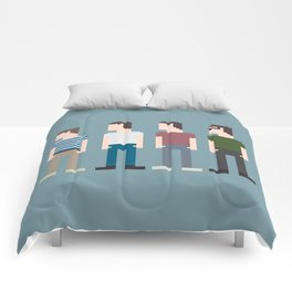 Stand By Me 8-Bit Comforters