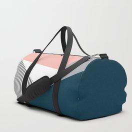 Colorful geometry 2 Duffle Bag