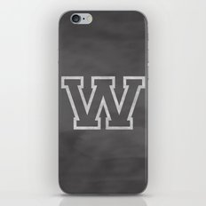 Letter W iPhone & iPod Skin