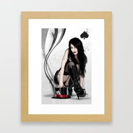 Ms Magic Framed Art Print