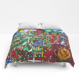 """""""Holiday Blessings"""" Comforters"""