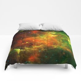North American and Pelican Nebulae Comforters