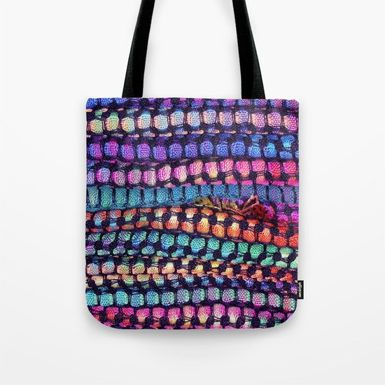 Colourful Layers  - JUSTART ©, edited photography Tote Bag