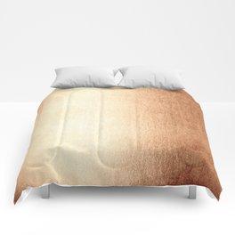 Simply Deep Bronze Amber Comforters