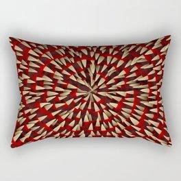 Toothy maw Rectangular Pillow