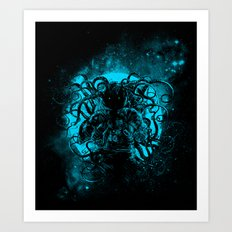 terror from the deep space Art Print