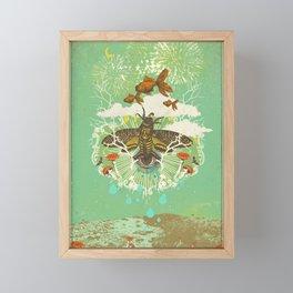 EVENING PSYCHEDELIA Framed Mini Art Print
