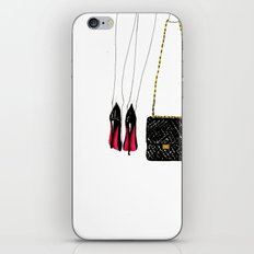 Red soles iPhone & iPod Skin