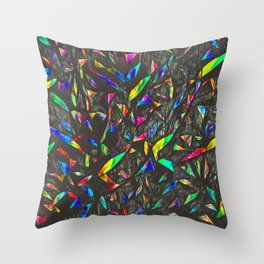 NeonTrees Abstract Pattern Throw Pillow