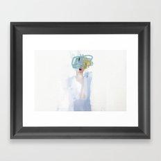 Heads 3 Framed Art Print
