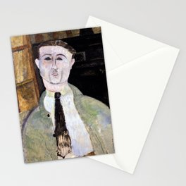 Amedeo Modigliani - Paul Guillaume - Digital Remastered Edition Stationery Cards