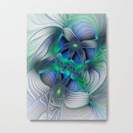 Fantasy Place, Abstract Fractal Art Metal Print