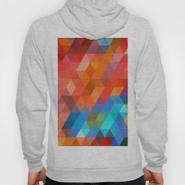 Color Triangles Hoody