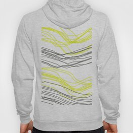 Yellow & Greay decor Hoody