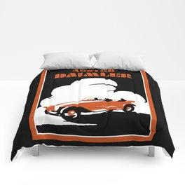 Austro-Daimler classic car Comforters