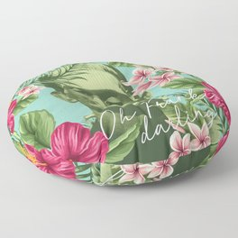 Oh Frankie darling - The Franktiki Floor Pillow