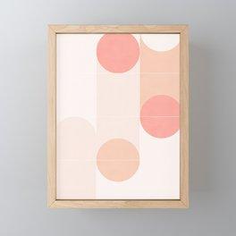 Retro Tiles 09 #society6 #pattern Framed Mini Art Print