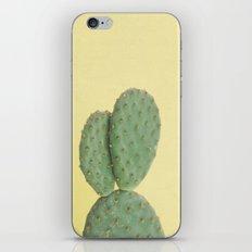 Yellow Cactus iPhone & iPod Skin