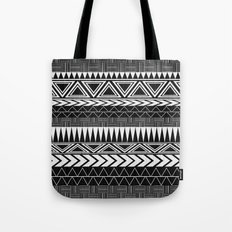 Tribal Monochrome. Tote Bag