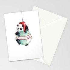 Christmas Panda Stationery Cards