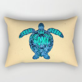 ocean omega Rectangular Pillow