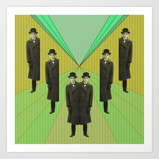 spies are everywhere Art Print