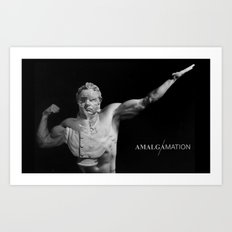 Amalgamation #2 Art Print