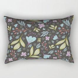 Spring Flowers Style E Rectangular Pillow
