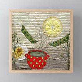 Lemon Landscape Framed Mini Art Print